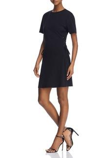 AQUA Corset Detail Tee Dress - 100% Exclusive