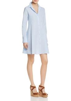 AQUA Cotton Poplin Shirt Dress - 100% Exclusive