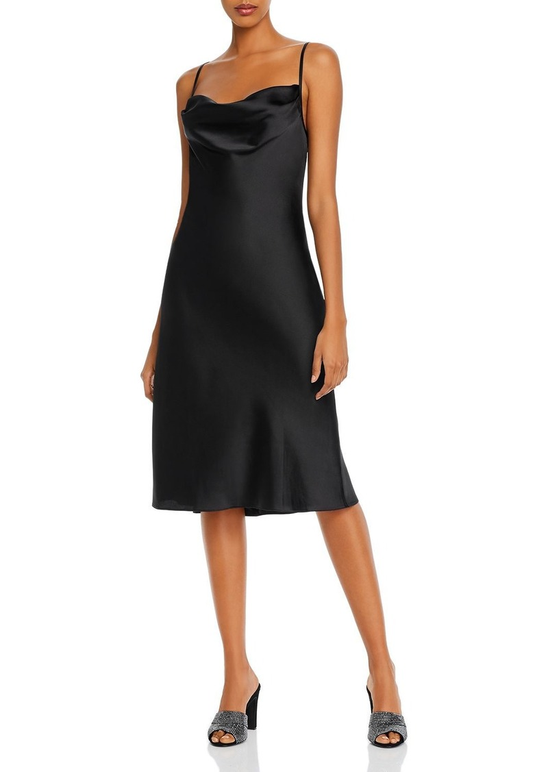 AQUA Cowl-Neck Slip Dress - 100% Exclusive