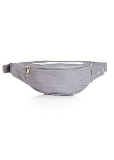 AQUA Croc-Embossed Belt Bag - 100% Exclusive