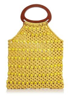 AQUA Crochet Beaded Bag - 100% Exclusive