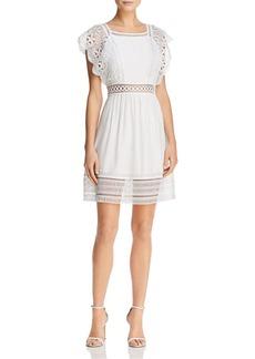 AQUA Crochet-Lace Dress - 100% Exclusive