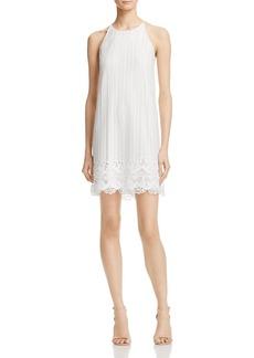 AQUA Crochet Lace Shift Dress - 100% Exclusive