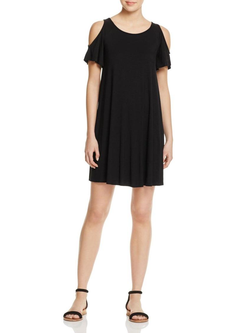 0b1575a6acb SALE! Aqua AQUA Cross Back Cold Shoulder Dress - 100% Exclusive