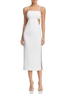 AQUA Cutout Midi Dress - 100% Exclusive
