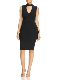 AQUA Cutout Neckline Dress - 100% Exclusive