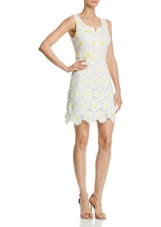 AQUA Daisy Lace Sheath Dress - 100% Exclusive
