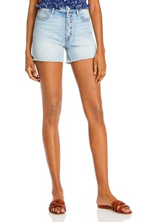 AQUA Denim Shorts in Medium Wash - 100% Exclusive