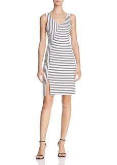 AQUA Directional Striped Dress - 100% Exclusive