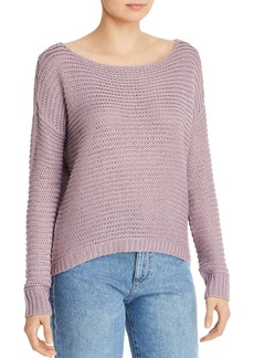 AQUA Drop-Shoulder Sweater - 100% Exclusive