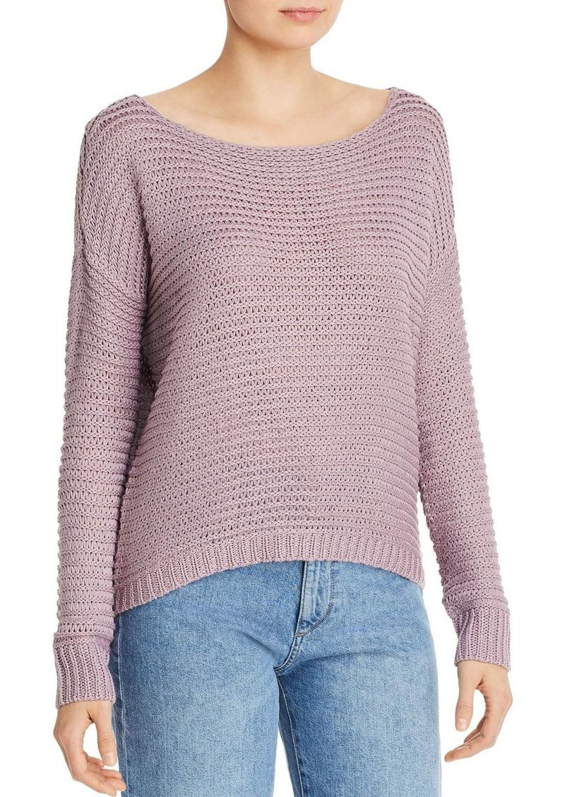 AQUA Drop-Shoulder Sweater - 100% Exclusive