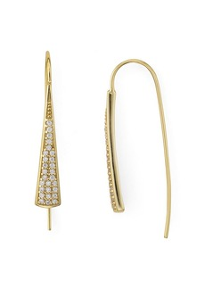 AQUA Embellished Threader Earrings in 18K Gold-Plated Sterling Silver or Sterling Silver - 100% Exclusive