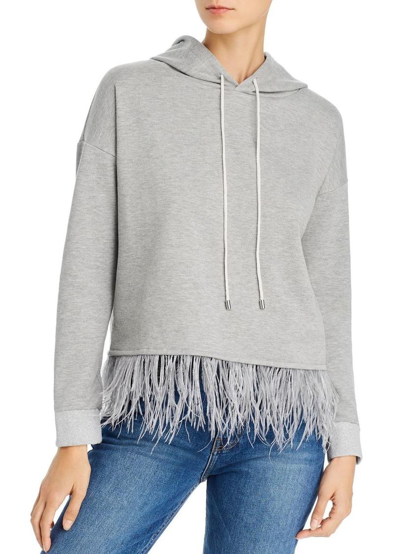 AQUA Embellished-Hem Hooded Sweatshirt - 100% Exclusive