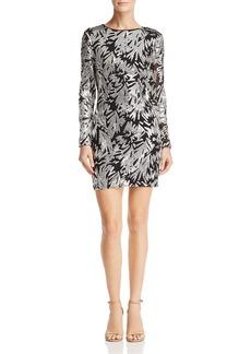 AQUA Embellished Mini Dress - 100% Exclusive