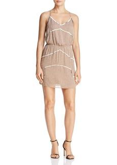 AQUA Embellished Racerback Dress - 100% Exclusive