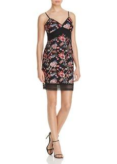 AQUA Embroidered Cami Dress - 100% Exclusive