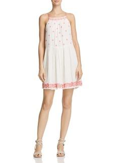 AQUA Embroidered Dress - 100% Exclusive
