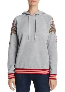AQUA Embroidered Hooded Sweatshirt - 100% Exclusive