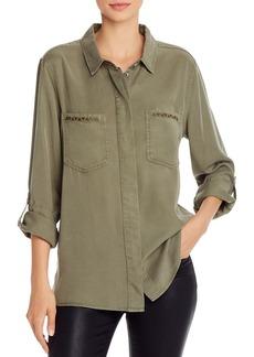 AQUA Embroidered Utility Shirt - 100% Exclusive