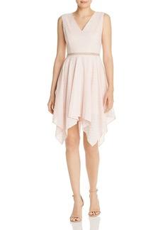 AQUA Eyelet Handkerchief-Hem Dress - 100% Exclusive