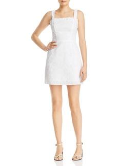 AQUA Eyelet Square-Neck Dress - 100% Exclusive