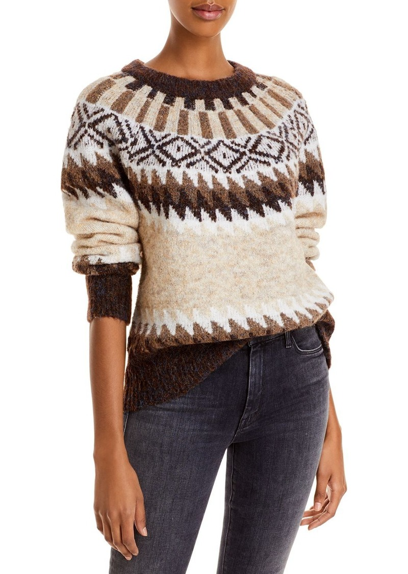 AQUA Fair Isle Sweater - 100% Exclusive