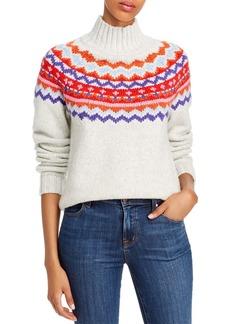 AQUA Fair Isle Turtleneck Sweater - 100% Exclusive