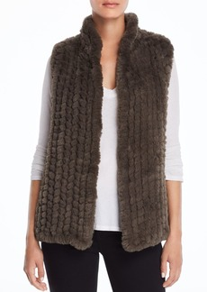 AQUA Faux Fur Vest - 100% Exclusive