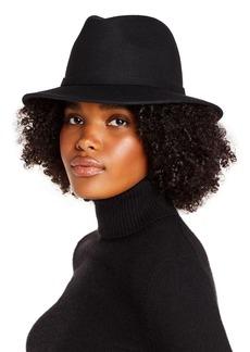 AQUA Felted Wool Hat