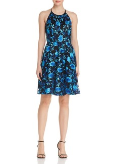 AQUA Floral Embroidered Dress - 100% Exclusive