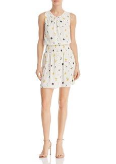 AQUA Floral Smocked-Waist Dress - 100% Exclusive