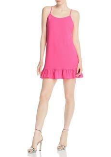 AQUA Flounce-Hem Mini Dress - 100% Exclusive