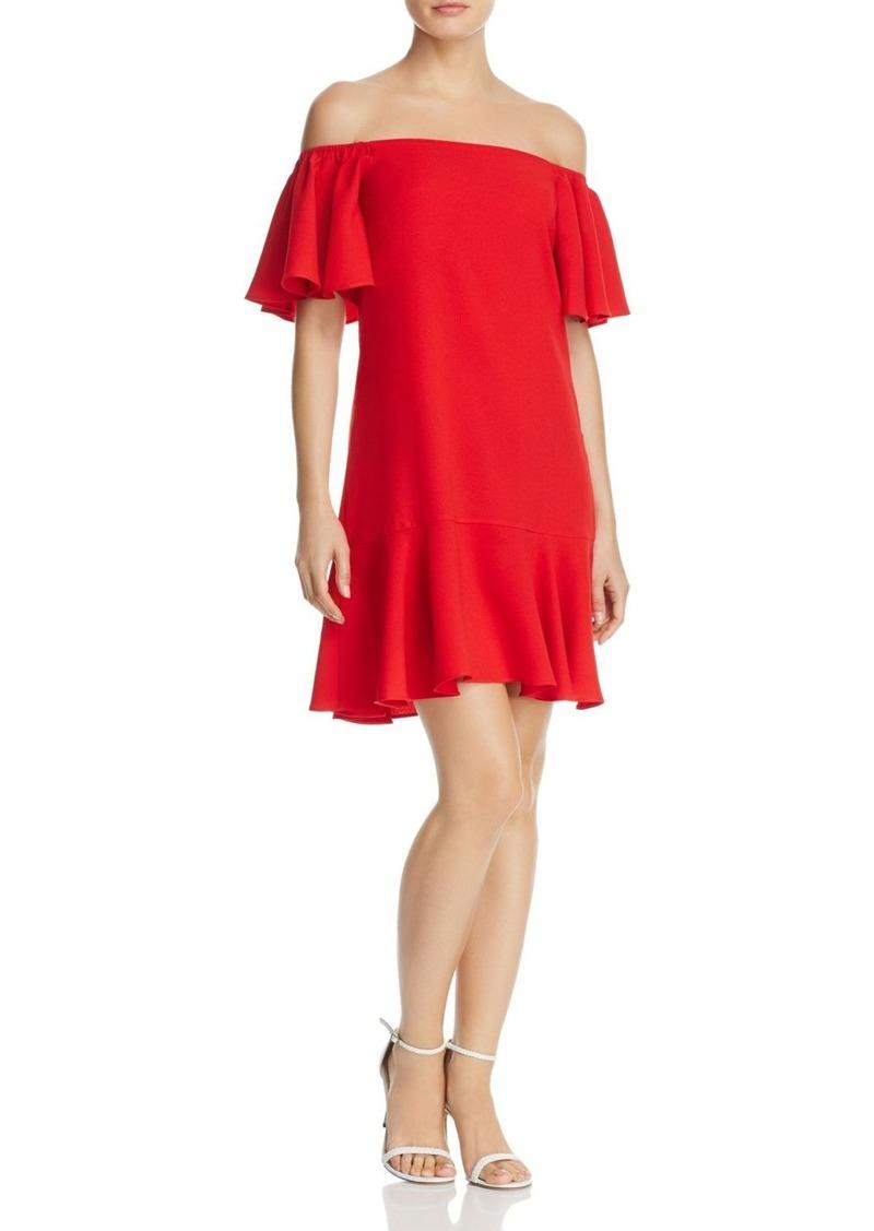 2b8cae9a560 Aqua AQUA Flounced Off-the-Shoulder Dress - 100% Exclusive