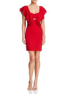 Aqua Flutter Sleeve Dress - 100% Exclusive