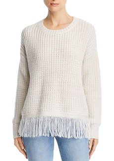 AQUA Fringed Sweater - 100% Exclusive