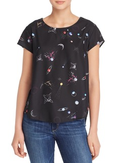 AQUA Galaxy Print Top - 100% Exclusive