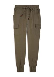 AQUA Girls' Cargo Jogger Pants, Big Kid - 100% Exclusive