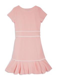 AQUA Girls' Flounced Cap-Sleeve Dress, Big Kid - 100% Exclusive