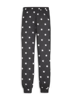AQUA Girls' Waffle Knit Jogger Pants, Big Kid - 100% Exclusive