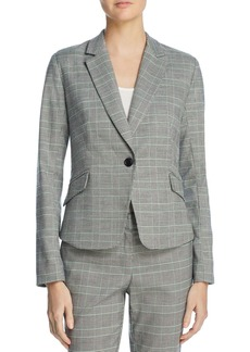 AQUA Glen Plaid Blazer - 100% Exclusive