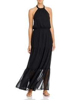 AQUA Halter Maxi Dress - 100% Exclusive