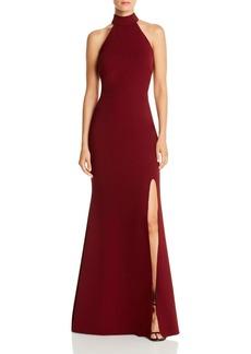 AQUA Halter-Neck Gown - 100% Exclusive