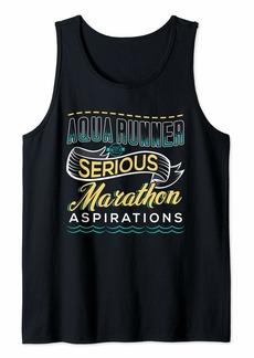 AQUA JOGGING Gift For Aquajogger Sport Fitness  Tank Top