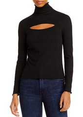 AQUA Keyhole Turtleneck Sweater - 100% Exclusive