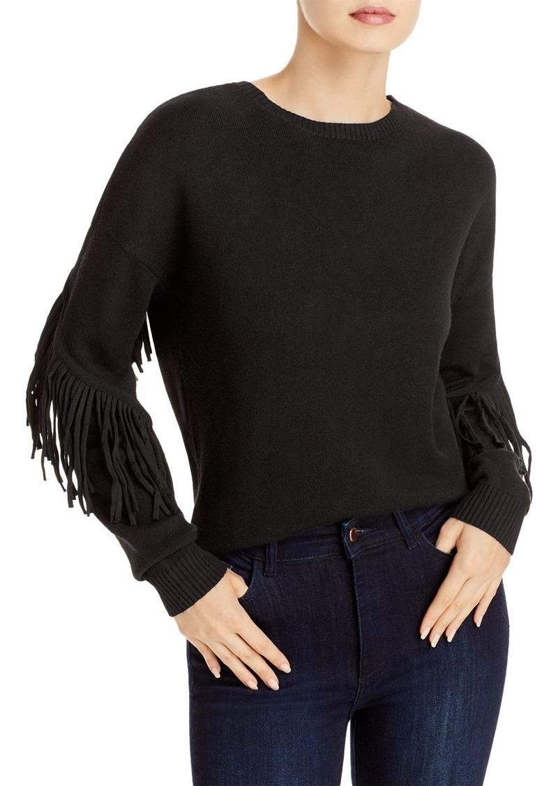 AQUA Knit Fringe Sleeve Sweater - 100% Exclusive
