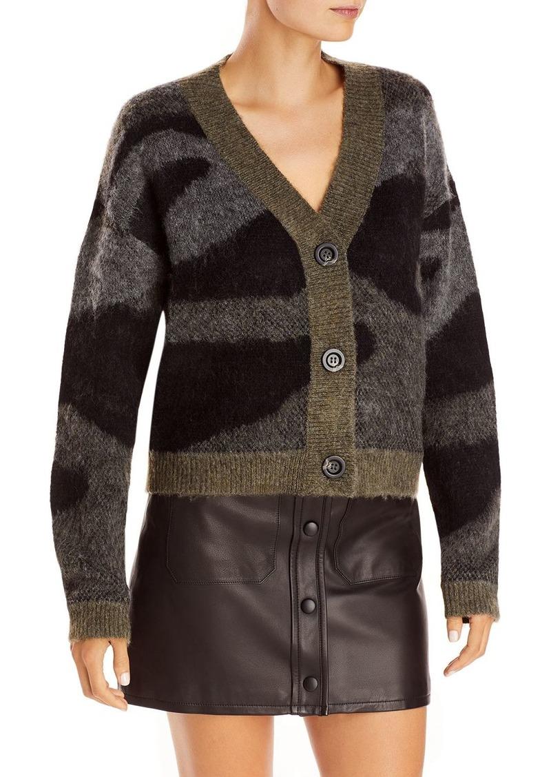 AQUA Printed Cardigan Sweater - 100% Exclusive