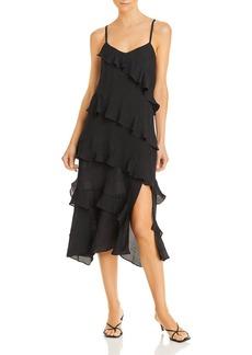 AQUA Kristina Ruffle Dress - 100% Exclusive