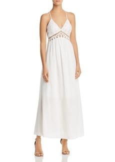 AQUA Lace-Bodice Maxi Dress - 100% Exclusive