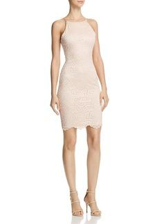 AQUA Lace Body-Con Dress - 100% Exclusive