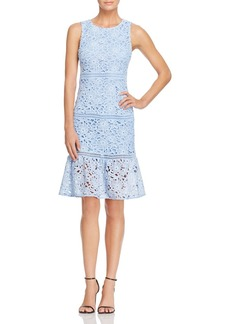 AQUA Lace Flounce Dress - 100% Exclusive